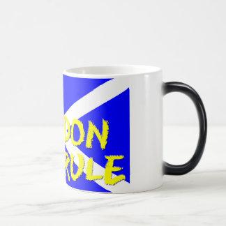 Verwandelnde Kaffee-Tasse Verwandlungstasse