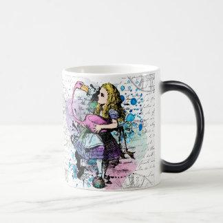 Verwandelnde Tasse der Alicen im Wunderland