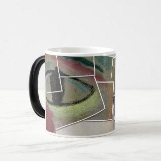 Verwandelnde Tassen-Augen Verwandlungstasse