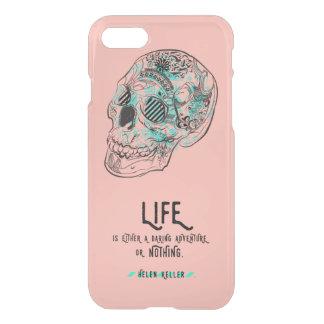Verwegener Leben-Zitat iPhone 7 Ablenker-Kasten iPhone 8/7 Hülle
