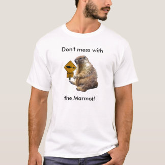Verwirren Sie nicht mit dem Murmeltier! T-Shirt