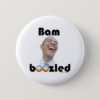 Verwirrt durch Obama Runder Button 5,7 Cm