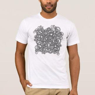 Verwirrt oben in den Fahrrädern - der T - Shirt
