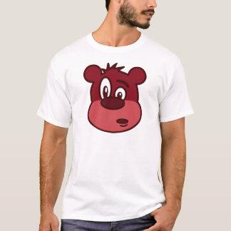 Verwirrter Brown-Cartoon-Bär T-Shirt