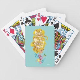 Verwirrtes | Rapunzel - perfekte Ergänzung Bicycle Spielkarten