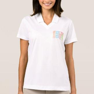 Verzauberte Regenbogen- und Einhorn-Märchen Polo Shirt