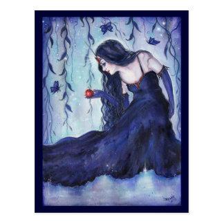 Verzauberte Visionsphantasie-Kunstpostkarte durch Postkarte