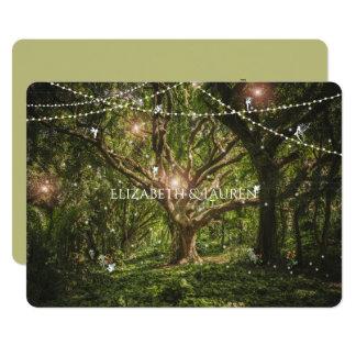 Verzauberter Wald, Feen, Wedding Einladung