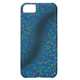 Verzerrter Quadrat-Muster iPhone 5C Fall iPhone 5C Hülle