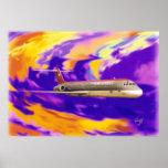 Verzerrung 7 DC-9 Poster