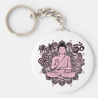 Verzierter Buddha Schlüsselanhänger