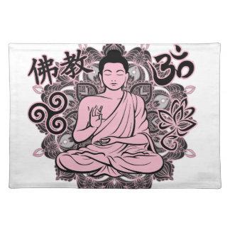 Verzierter Buddha Tischset
