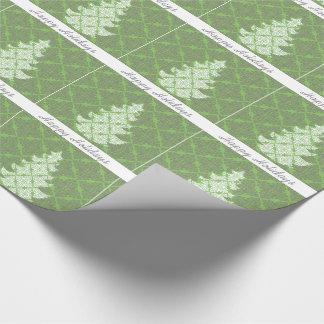 Verzierter extravaganter einpackpapier