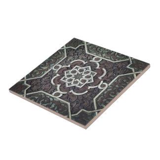 Verzierter Mosaik-Entwurf Alhambras Fliese