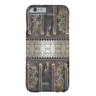 Verzierter Steampunk Goth Vintager Blick Barely There iPhone 6 Hülle