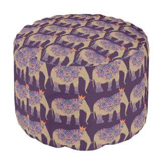 Verziertes Elefant-niedliches Whimsy hübsches Hocker
