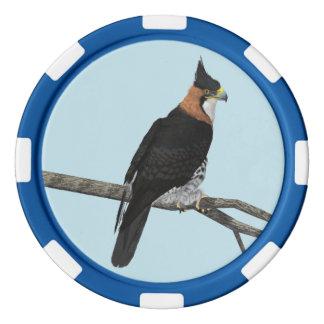 Verziertes Falke-Eagle Poker Chips