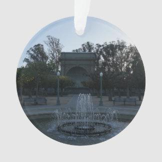 Verzierung des Golden Gate Park Ornament