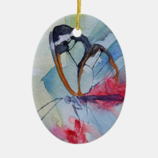 Verzierung des Schmetterlinges 10 Keramik Ornament