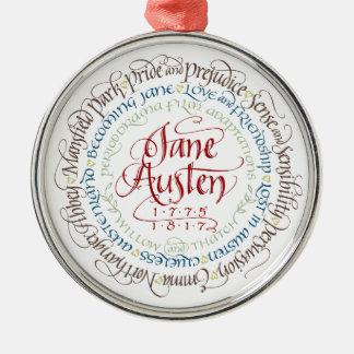 Verzierung - Jane Silbernes Ornament