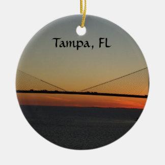 Verzierung Tampas Florida Keramik Ornament