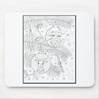 Verzierungs-Linie Kunst-Entwurf Mousepads