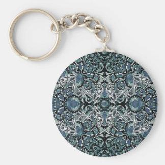 Verzierungs-Luxus-Muster Schlüsselanhänger