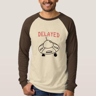 Verzögerter Flug durch UFO T-Shirt