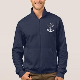 Veste Ancre et corde nautiques