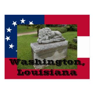 Veteranen-Monument, Washington, Gemeinde-La St. Postkarte