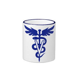 Veterinärlogo 4 ringer tasse