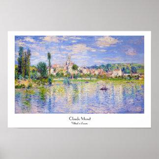 Vetheuil im Sommer Claude Monet Poster