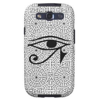 Vibe égyptien de la galaxie S3 de Samsung d'oeil e