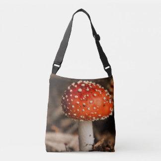 Vibrierende Pilze Tragetaschen Mit Langen Trägern