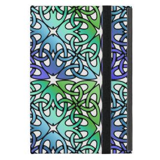 Vibrierender keltischer Knoten WÄHLEN IHREN iPad Mini Hülle