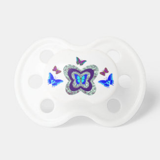 Vibrierender Schmetterlings-Baby-Schnuller Schnuller