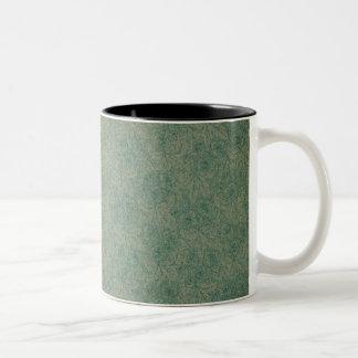 Vibrierendes Grün Zweifarbige Tasse