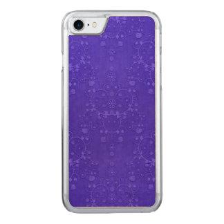 Vibrierendes Kobalt-Blau-extravagantes Carved iPhone 8/7 Hülle