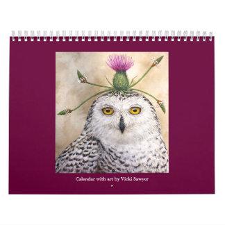Vicki Sawyer Kunstkalender Abreißkalender