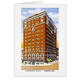 Vicksburg Hotel, Vicksburg, Mississippi Karte