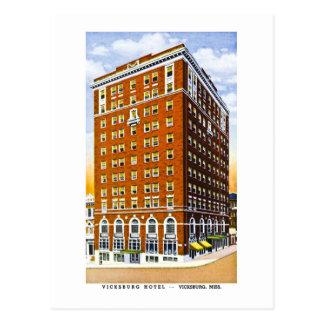 Vicksburg Hotel, Vicksburg, Mississippi Postkarte