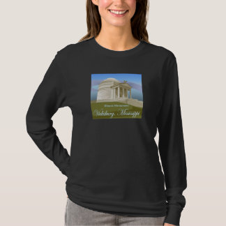 Vicksburg, Mitgliedstaat-Damen-lange Hülse T-Shirt