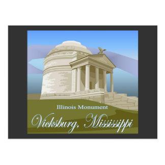 Vicksburg, Mitgliedstaat-Postkarte Postkarte
