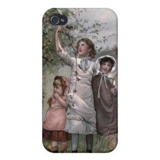 Victorien et mignon vintages : Sélection de Blackb Coques iPhone 4
