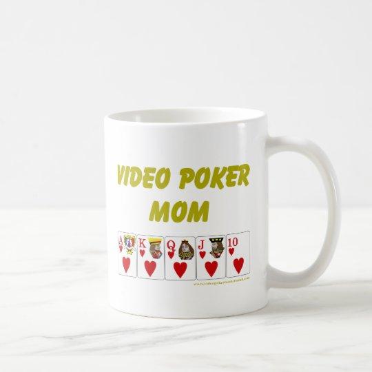 VideoPoker: VideoPokermammaherz Kaffeetasse