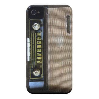 Vieille caisse par radio vintage de Blackberry
