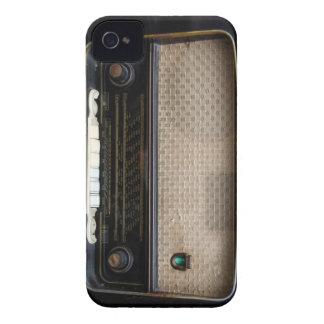 Vieille caisse par radio vintage de Blackberry Étuis iPhone 4
