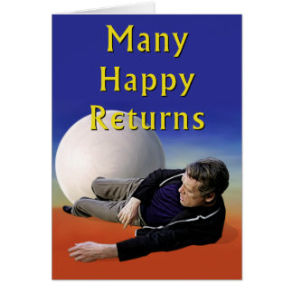 Viel glückliche Rückkehr Karte