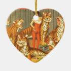 Viele Pet Tiger Keramik Ornament