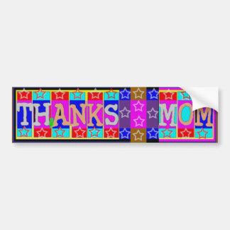 VIELE Weisen, DANK-MAMMA zu sagen: durch Naveen Autoaufkleber
